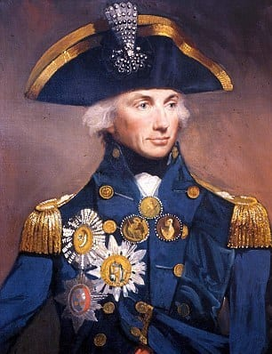and invited Lord Horatio Nelson in!
