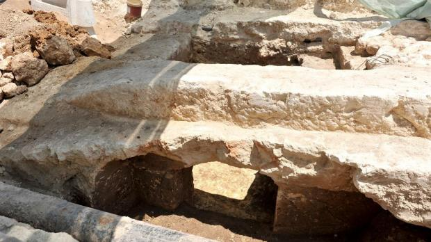 Punic tombs unearthed.