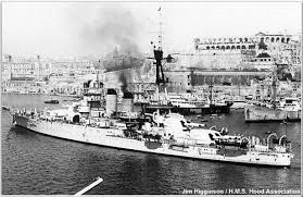 -the-ill-fated-HMS-Hood-anchored-in-the-harbour.-It-was-later-torpedoed-in-WWII-with-the-loss-of-almost-1000-men-including-a-substantial-number-of-Maltese-sailors