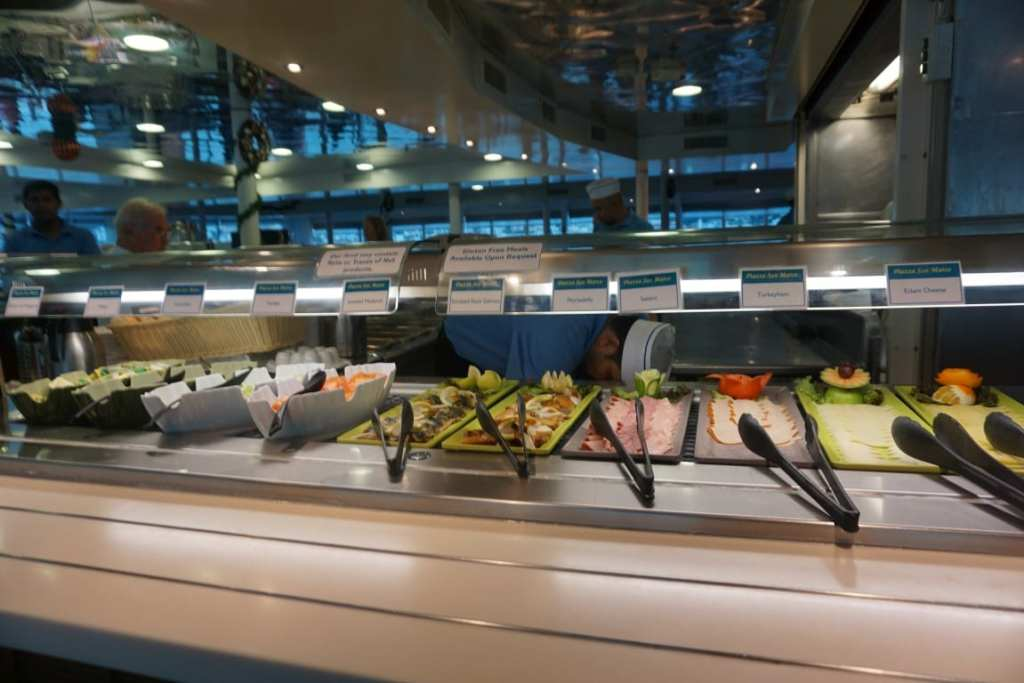 Lovely fresh buffet food
