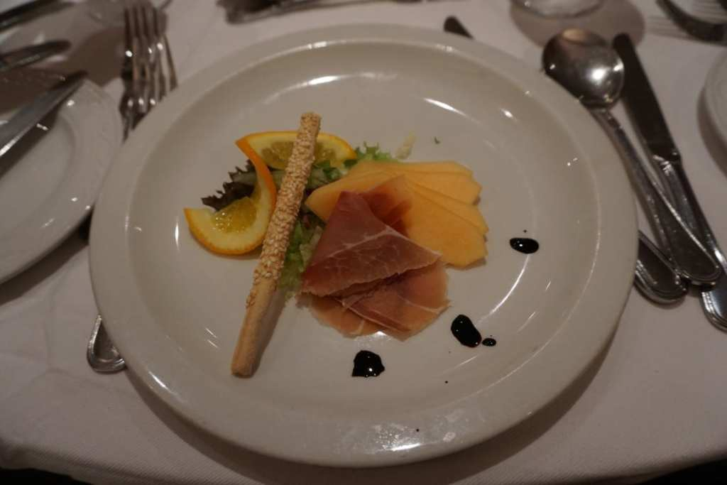 Delicious restaurant meal