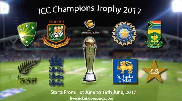 There really is no low key game at the ICC Champions Trophy