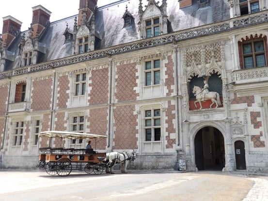 Main gate of Chateau de Blois