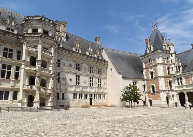 Chateau de Blois Renaissance wing by François the First