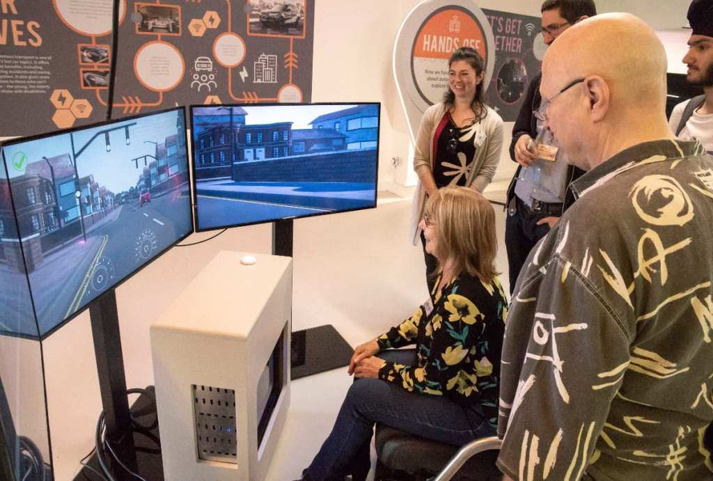 Pic Experiencing autonomous driving Photo Rob Tysall