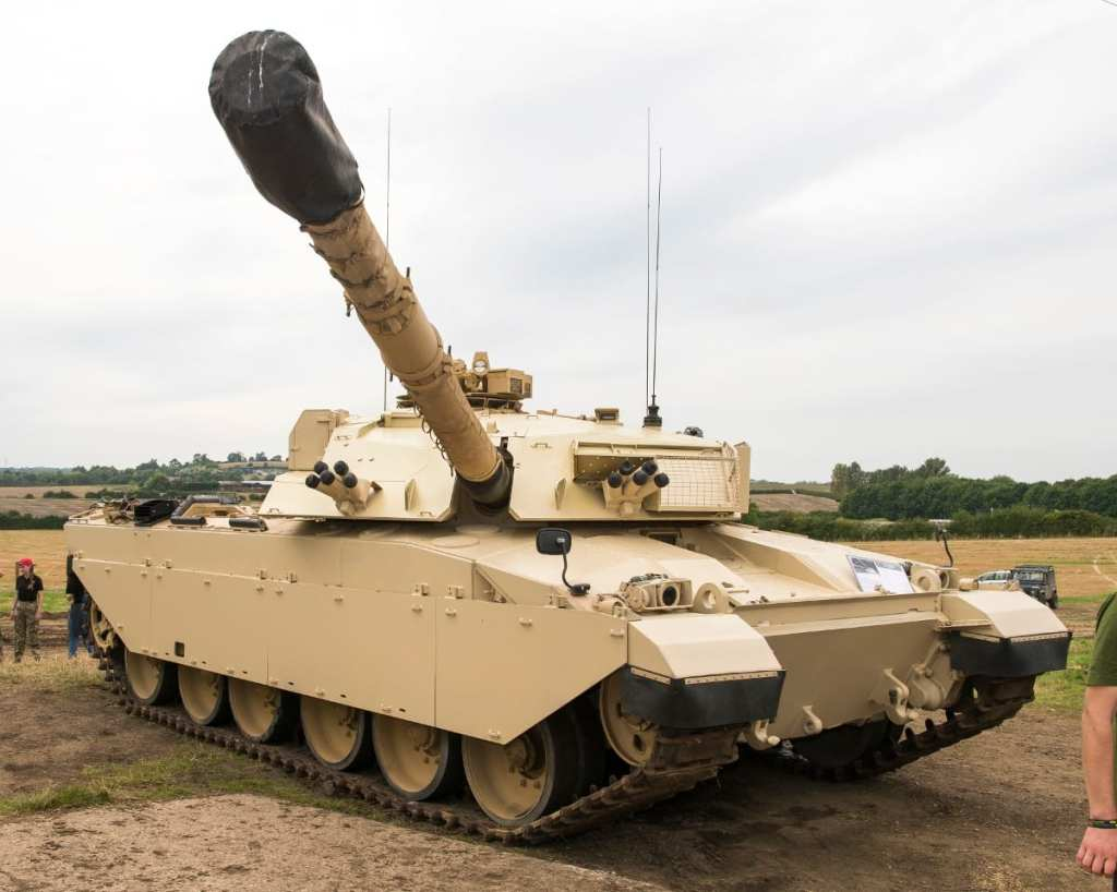 Pic See the fully restored Challenger Main Battle Tank