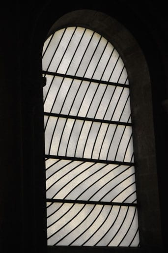 Soulages stained glass window