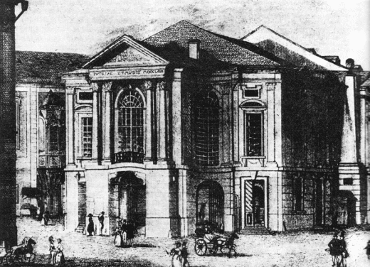National theatre back then