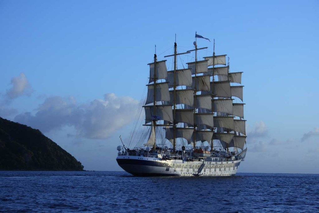 Royal Cliper off Martinique