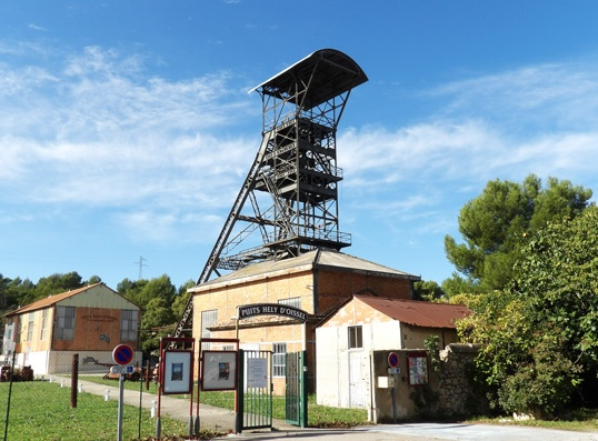 Greasque coalmine