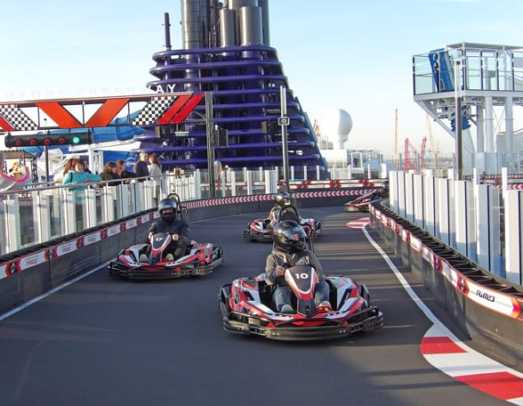 Karting on board