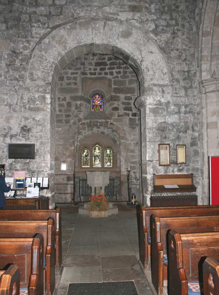 Roman Archway in Corbridge Church