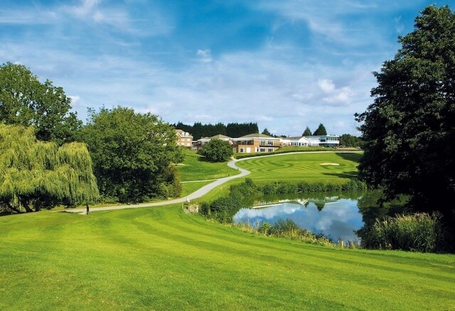 Stoke by Nayland Hotel Golf Spa from the th tee Gainsborough Course