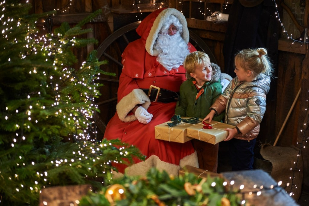 Meet santa at Coalbrookdale weekends from Nov to Dec