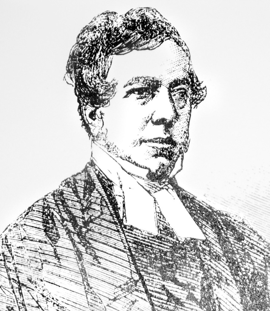Pic The only known portrait of William Webb Ellis in later years as a member of the Clergy