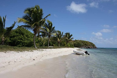 South beach Peiti Bateau Tobago Cays