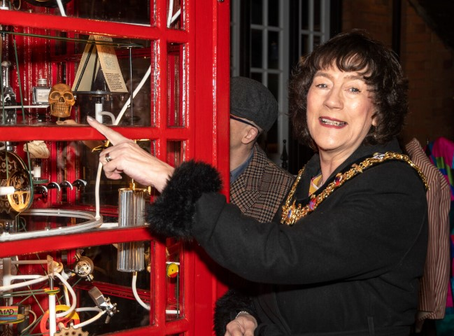 Pic Stratford upon Avons Mayor Cllr Kate Rolfe