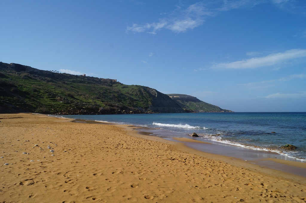 MalDia AS WE ARE deserted beaches at this time of year normally packed with seaside picnicers