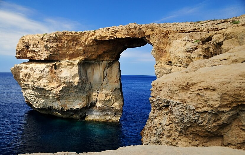 MalDia The Azure Window at Dwejra lost and gone forever