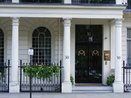 Bahrein Embassy in Belgrave Square