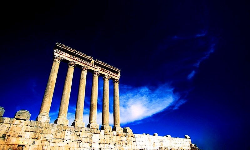 Temple of Baalbek Lebanon