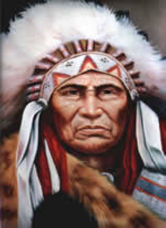 Red Indian spirit guide