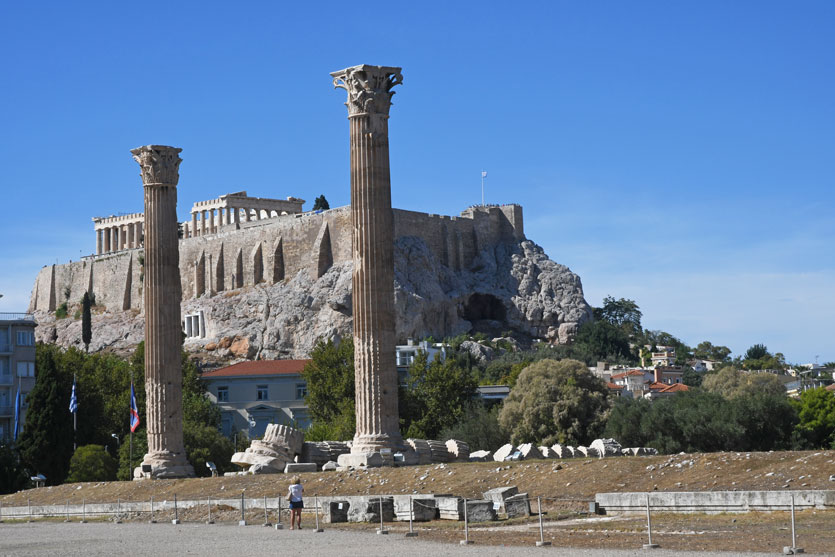 The Iconic Acropolis of Athens