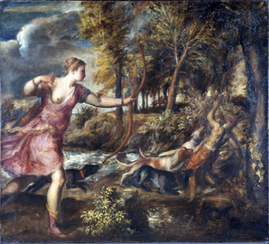 Titian The Death of Actaeon The National Gallery London