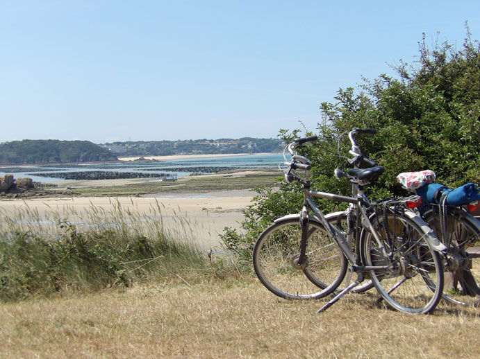 On the Velo Maritime route