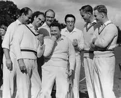 Sir Harry at his cricket match