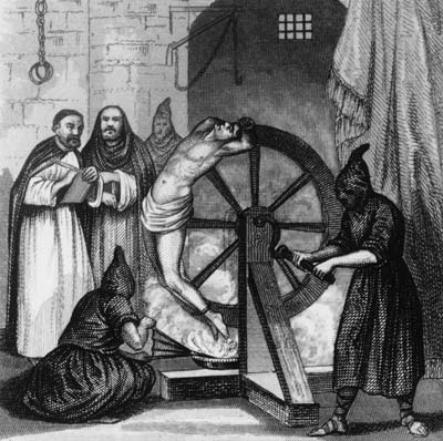 MalDia 10 (28-01-15) the painful Spanish Inquisition wheel