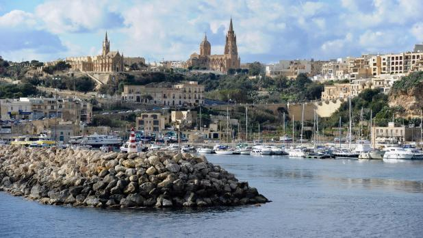 MalDia The first spectacular view of Mgarr Harbour in Gozo