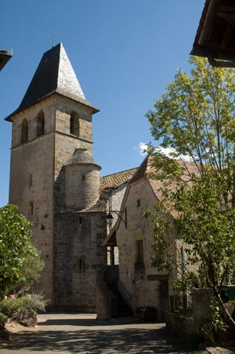 Church of Loubressac