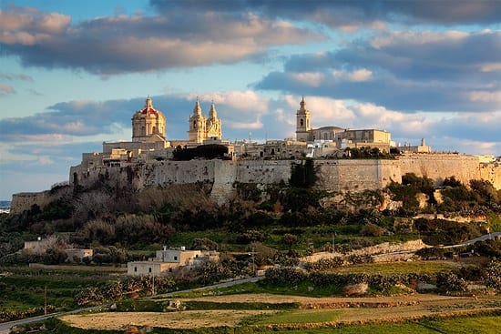 MalDia Maltas old capital city Mdina then known as The Walled City