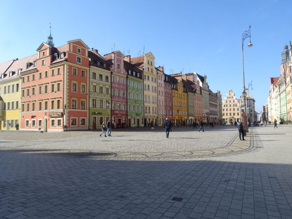 The Main Square Wroclaw