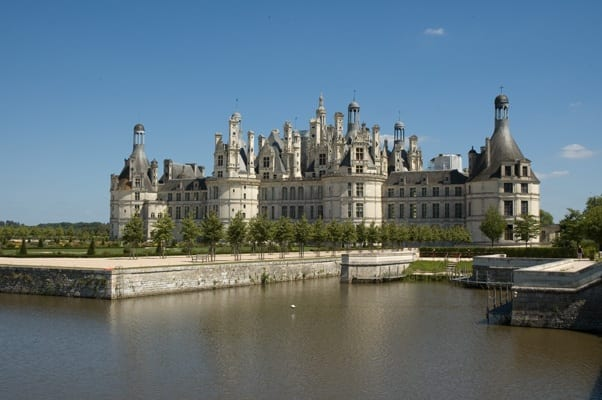 Another view of Château de Chambord