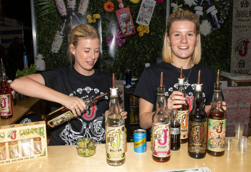 Pic Popular drinks on the Signature Brands stand
