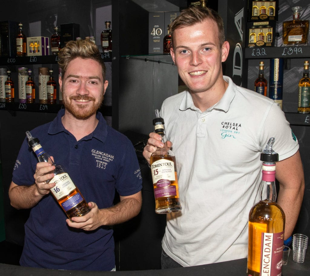 Pic Jordan Hillman and Patrick Warren in the family run Angus Dundee Distillers