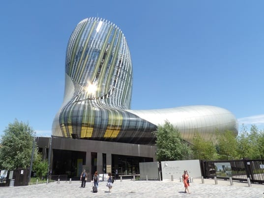 The Cité du vin in Bordeaux