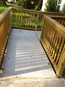 Remodeling Services Katy Texas B C Construction Ada Compliant | Ada Compliant Wood Handrails | Accessible Ramp | Wooden Ramp | Commercial | Stair | Deck