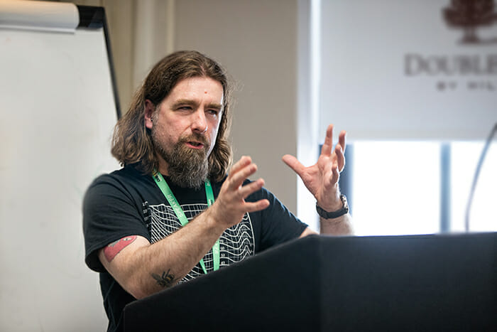 Rob Bee from B Double E training at the OneVoice 2019 conference