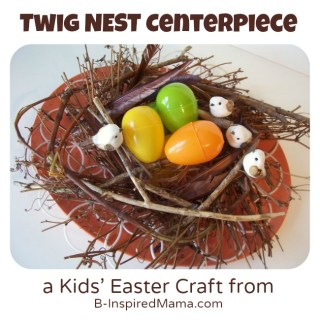Kids Nest Easter Craft