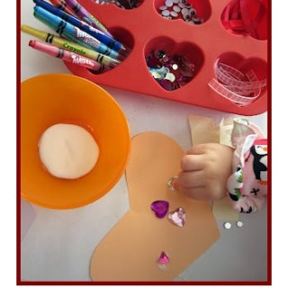 Preschool Valentine Craft Station