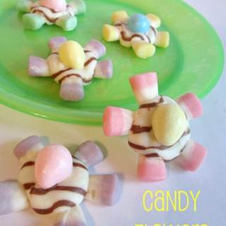 Kids in the Kitchen – Candy Flowers for Spring