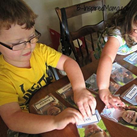 Kids Emotions Matching Game