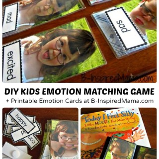 DIY Kids Emotions Game & Emotions Download