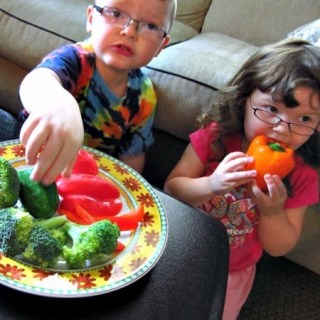 Kids and Vegetables [Copy Kids Review and Giveaway]