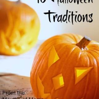 10 Halloween Traditions [From the Mouths of Moms]