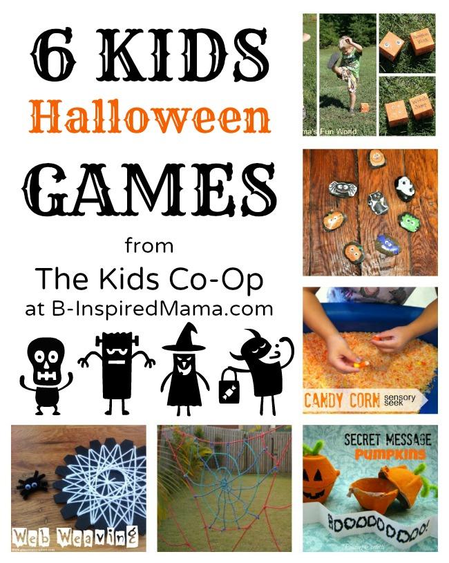 6 Kids Halloween Games [Kids Co-Op]   B-Inspired Mama