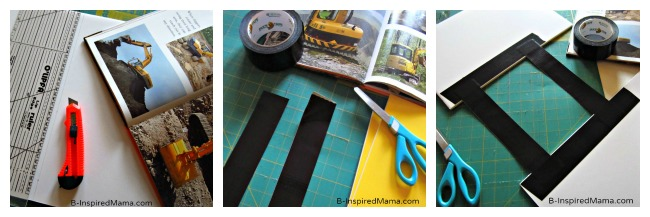 Steps for DIY Excavator Costume at B-Inspired Mama
